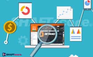 Lupa analisando o site de apostas esportivas da Betano Brasil