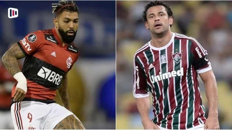 Gabigol e Fred - Flamengo Fluminense