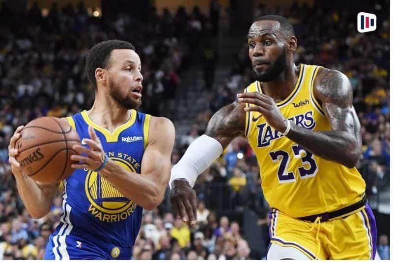 Jogadores Lakers Warriors