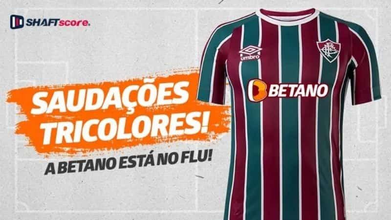 Parceria Fluminense Betano, apostas esportivas online.