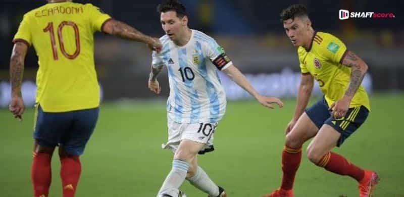 Palpite e prognóstico Argentina Colômbia.
