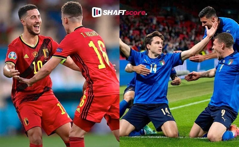 Palpite e prognóstico Bélgica Itália, dicas de apostas esportivas online.